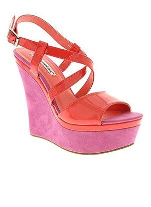 Sandales/Nu pieds rose FRANCESCO MILANO pour femme