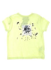 T-shirt manches courtes jaune 3 POMMES pour garçon seconde vue