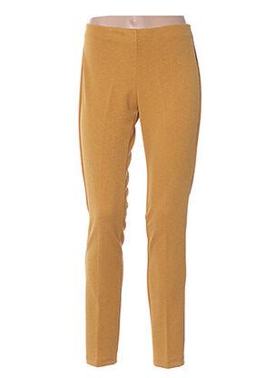 Pantalon casual jaune FARUK pour femme