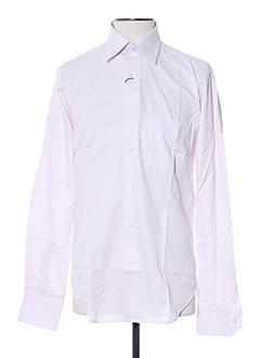 Chemise manches longues violet AUTHENTIQUE pour homme