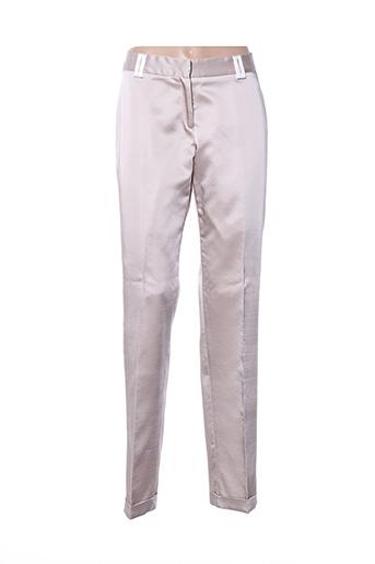Pantalon chic beige LOUIS PURPLE pour homme