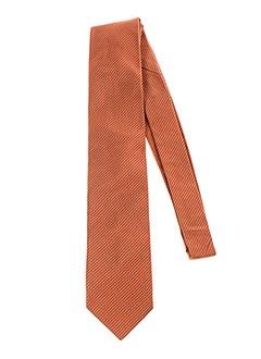 Cravate orange GREGE CREATION pour homme