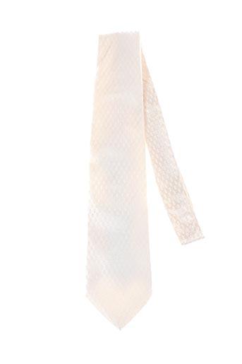 Cravate beige HUGO BOSS pour homme