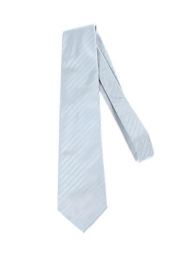 Cravate bleu GREGE CREATION pour homme