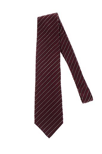 Cravate rouge HUGO BOSS pour homme