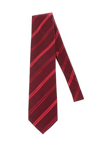 Cravate rouge MAC-TY pour homme