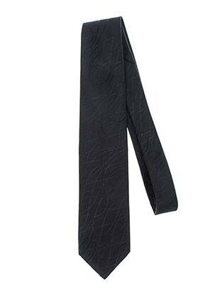 Cravate noir GREGE CREATION pour homme