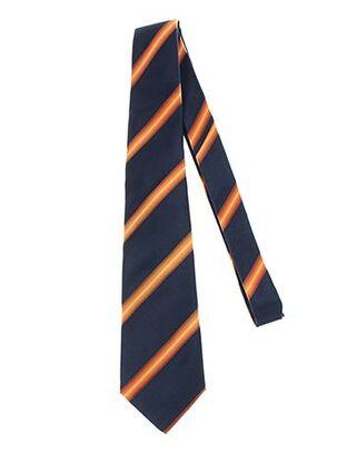 Cravate orange AUTHENTIQUE pour homme