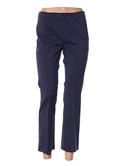 Pantalon 7/8 bleu DIANA GALLESI pour femme