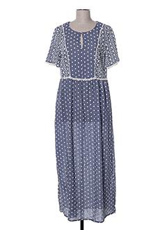 Robe longue bleu DIANA GALLESI pour femme