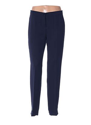 Pantalon casual bleu DIANA GALLESI pour femme
