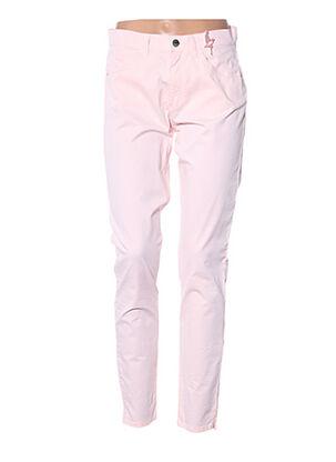 Pantalon casual rose DIANA GALLESI pour femme