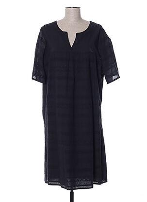 Robe mi-longue noir DIANA GALLESI pour femme