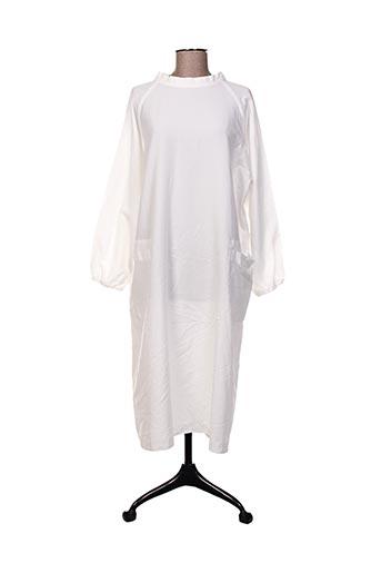 Robe mi-longue blanc COMME DES GARCONS pour femme