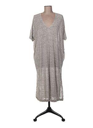 Tunique manches courtes gris C.T.PLAGE pour femme