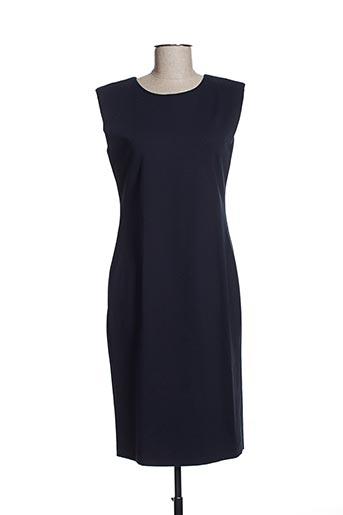 Robe mi-longue bleu EFYSE pour femme