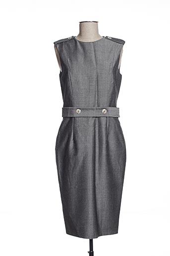 Robe mi-longue gris EFYSE pour femme