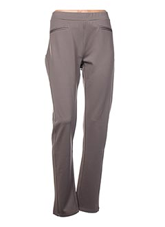 Pantalon casual marron BUGARRI pour femme