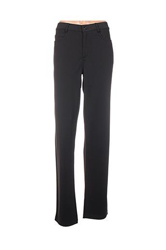 Pantalon casual noir BUGARRI pour femme