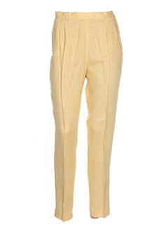 Pantalon chic jaune COMPAGNIE DU SOLEIL pour femme