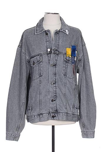 Veste en jean gris SCOTCH & SODA pour homme