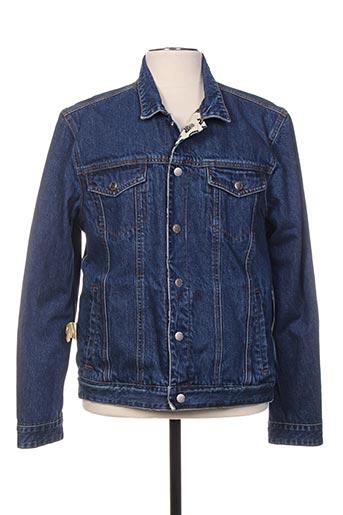 Veste en jean bleu SCOTCH & SODA pour homme