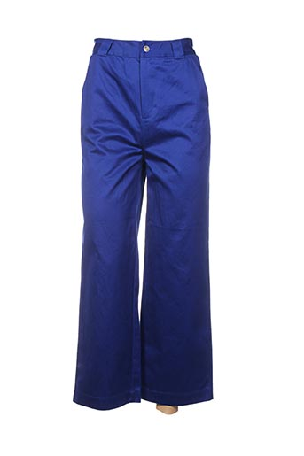 Pantalon casual bleu SCOTCH & SODA pour femme