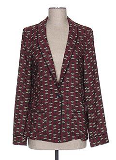 Veste chic / Blazer rouge MAISON SCOTCH pour femme