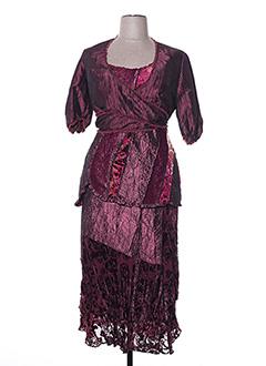 Veste/robe rouge FRED SABATIER pour femme