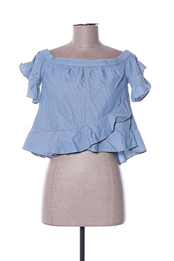 Top bleu BCBGMAXAZRIA pour femme