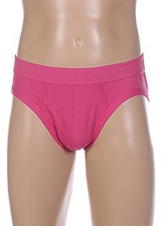 Slip/Culotte rose ARTHUR pour homme