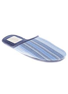 Chaussons/Pantoufles bleu ARTHUR pour homme