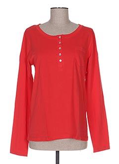 Pyjama rouge LA FIANCEE D'ARTHUR pour femme