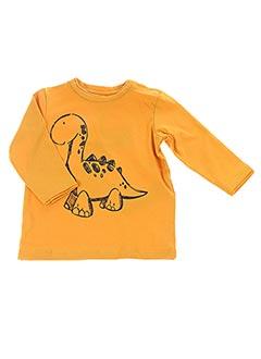 T-shirt manches longues jaune NAME IT pour garçon