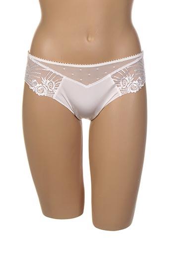String/Tanga blanc ANTINEA pour femme