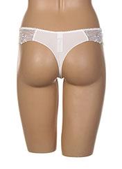 String/Tanga blanc ANTINEA pour femme seconde vue