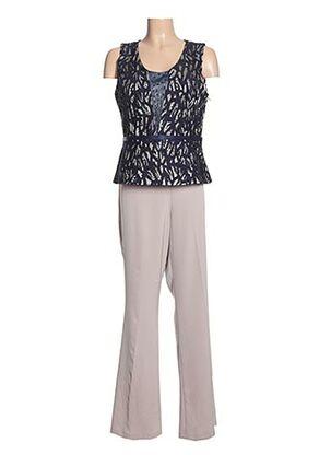 Top/pantalon bleu CREATIF PARIS pour femme