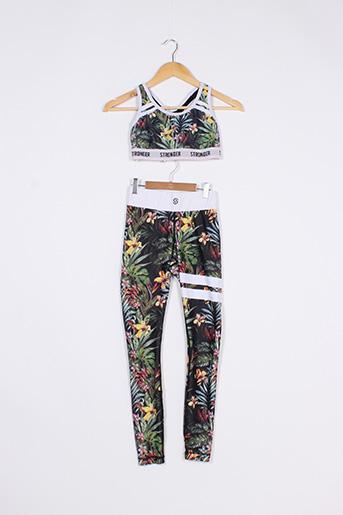 Top/pantalon vert STRONGER pour femme