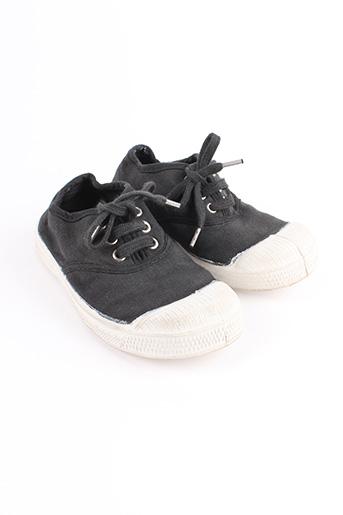 Baskets noir BENSIMON pour fille