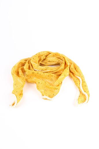 Foulard jaune SANS MARQUE pour fille
