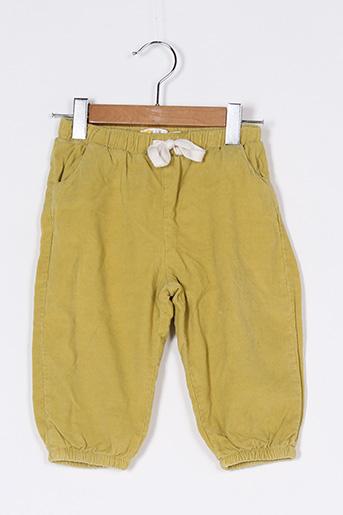 Pantalon casual jaune BODEN pour garçon