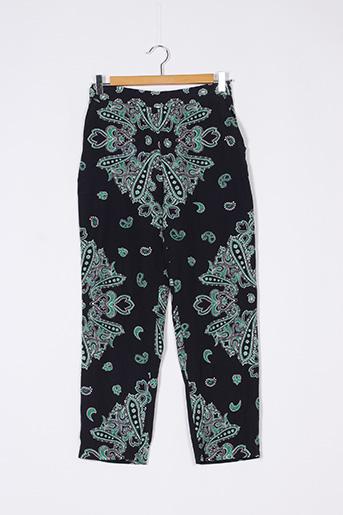 Pantalon casual vert ZARA pour femme