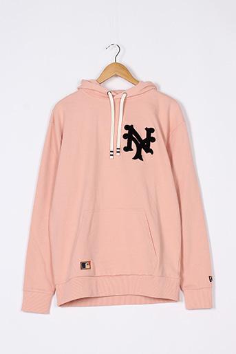 Sweat-shirt rose NEW ERA pour femme