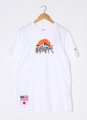 T-shirt manches courtes blanc NEW ERA pour femme seconde vue
