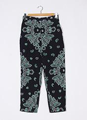 Pantalon casual vert ZARA pour femme seconde vue