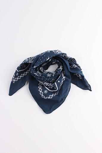 Foulard bleu SANS MARQUE pour femme