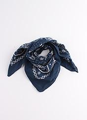 Foulard bleu SANS MARQUE pour femme seconde vue