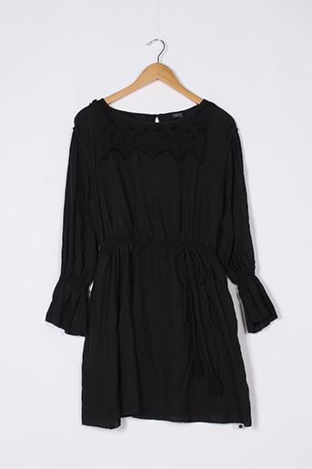 Robe mi-longue noir EKYOG pour femme