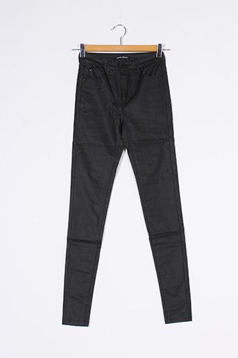 Pantalon 7/8 noir ESTEE BROWN pour femme