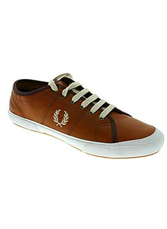 Baskets marron FRED PERRY pour homme